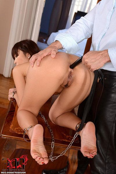 Titsy Chinese obsession pattern Marica Hase winning hardcore anal in chains