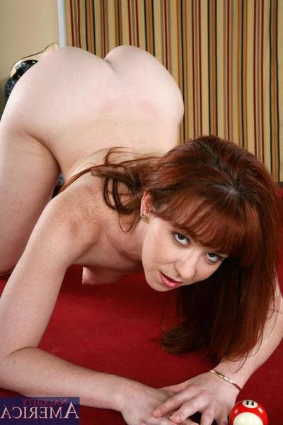 Diminutive tit redhead Trio Post receives her arse destroyed by mammoth vital knob