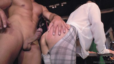 Valentina bianco is a hungry anal piggy and satrina shames this doxy all around