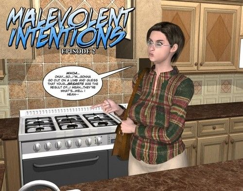 Malevolent intentions jag27 3d comics anime