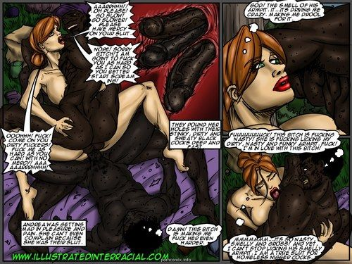 Emptiness- Illustrated interracial - loyalty 5