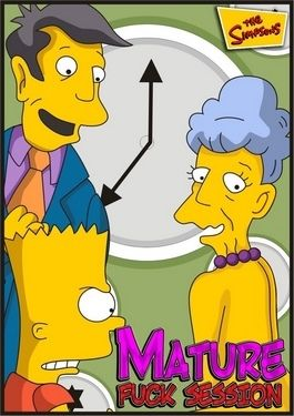 simpsons mature fianc
