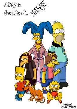 At any time in Life of Marge (The Simpsons)