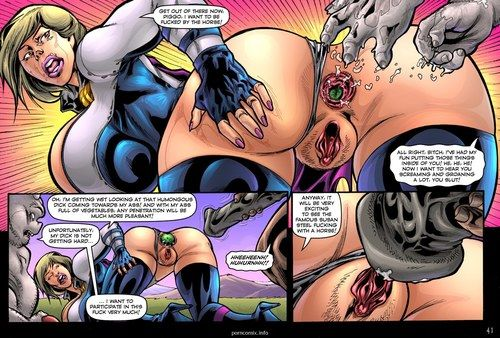 Alien Orgy Farm- Superheroine - part 3