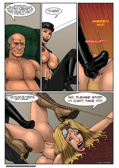 Busty Bombshell- Axis of Evil- DeucesWorld - part 2