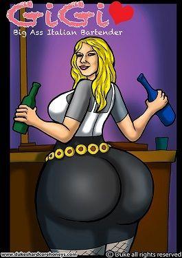 Gigi – Big Ass Italian Bartender 1