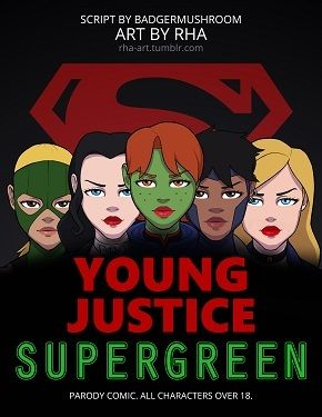 Young Justice- Supergreen
