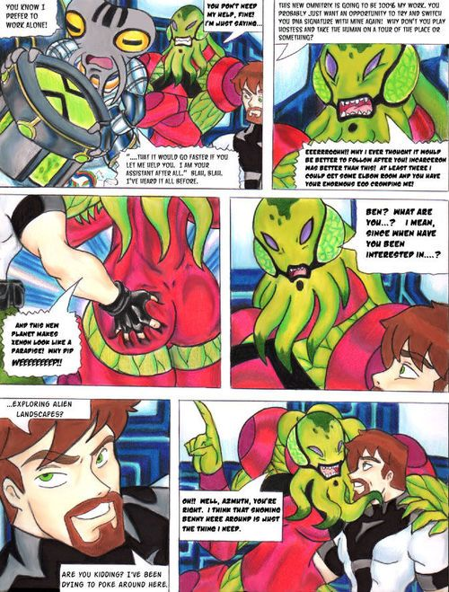 [Taigan] Untold Tale (Ben 10) [Full Color]