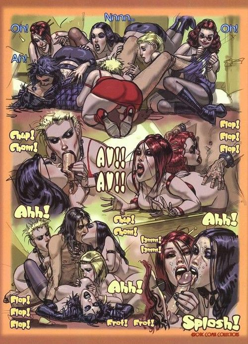 Porn comics with brutal oral and assfuck scenes