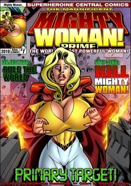 Mighty Woman Prime in Sly Target- Superheroine Central