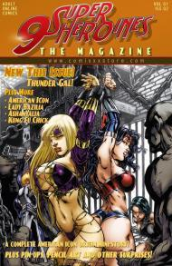 9 Super Heroines -The Magazine 2