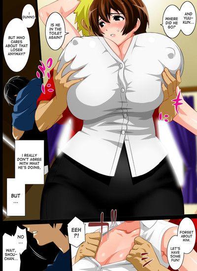 Kinpatsu Musuko To Onaho Haha - part 2