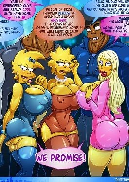 Slut Night Out – Simpsons [Kogeikun]