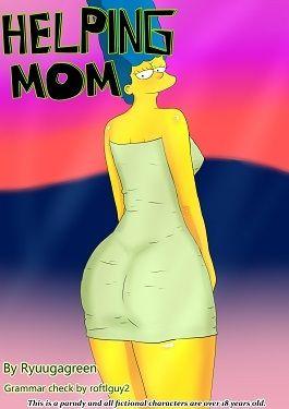 Simpsons- Helping Mom
