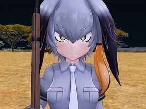 MP-7L Hashibiro-chan Gari Kemono Friends