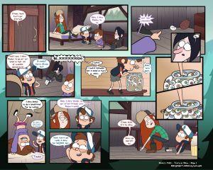 Gravity Falls - Truth Or Dare