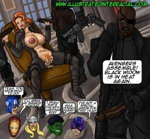 illustrated interracial- Parodies