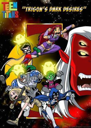 Teen Titans- Trigon's Dark Desires