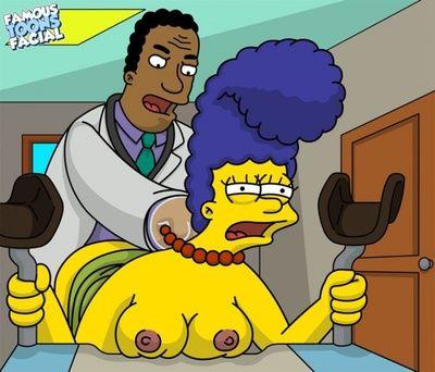 Simpsons - Dr. Hibbert fucks Marge